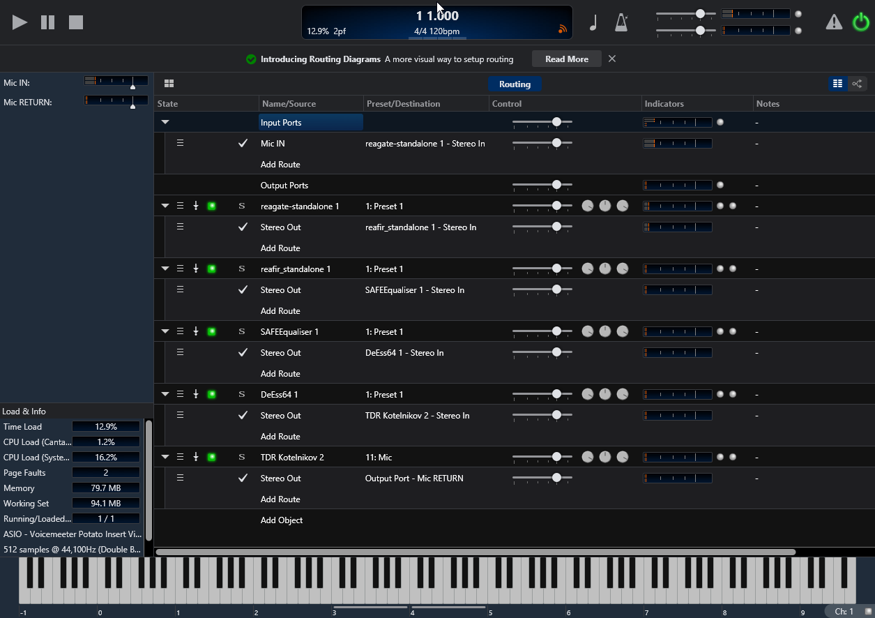 Using Cantabile Lite (VST Host) with Voicemeeter – Samourai47